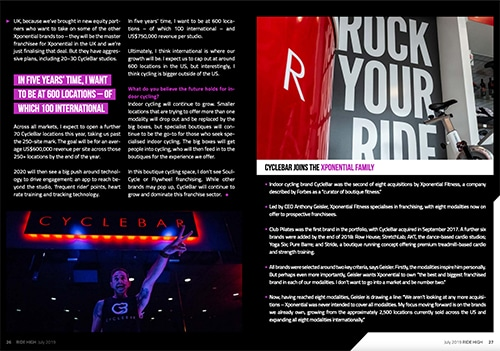 RIDE HIGH MAGAZINE BODY BIKE